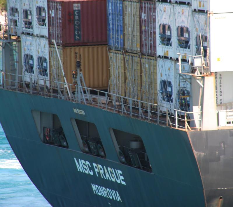 Exportación por vía marítima