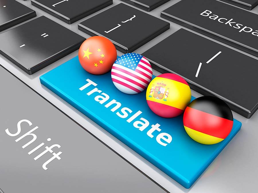 Traducción y corrección de textos