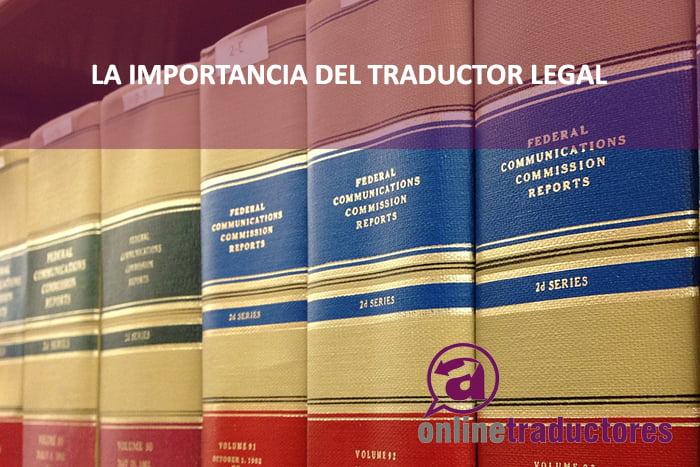 Traductor legal online | Empresa de traducción