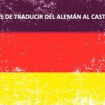 Traducciones al aleman | Online Traductores