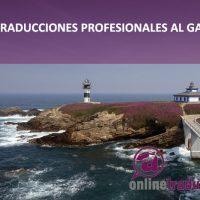 Traducciones profesionales al gallego