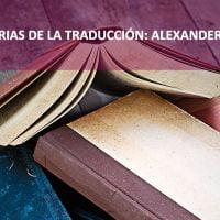 Historia de la traducción: el caso de Alexander Pope