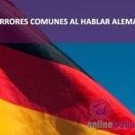 Errores al hablar alemán   Online Traductores